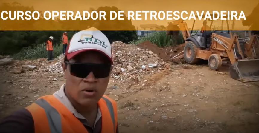 CURSO OPERADOR DE MUNCK (GUINDAUTO) E RETROESCAVADEIRA